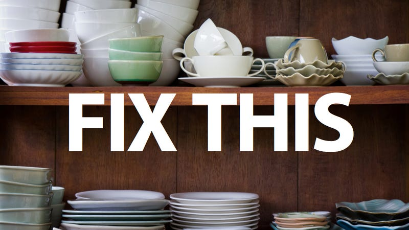 Ten Ways To Clear Out Kitchen Cabinet Clutter