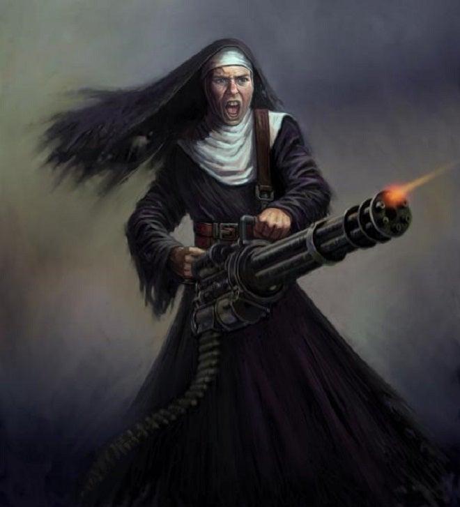 Wasteland 2 Battle Nun