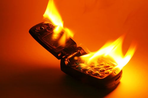 Man Killed By Exploding Cell Phone