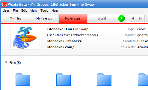 Store and Swap Files at Wuala (Lifehacker Group Now Open!)