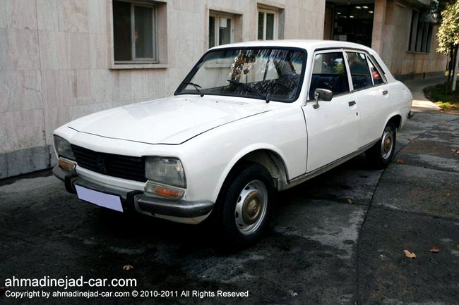 Ahmadinejad's Old Car Sells for $2.5 Million