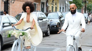 Solange's Wedding Featured Something Borrowed, Something Blue, HIVES