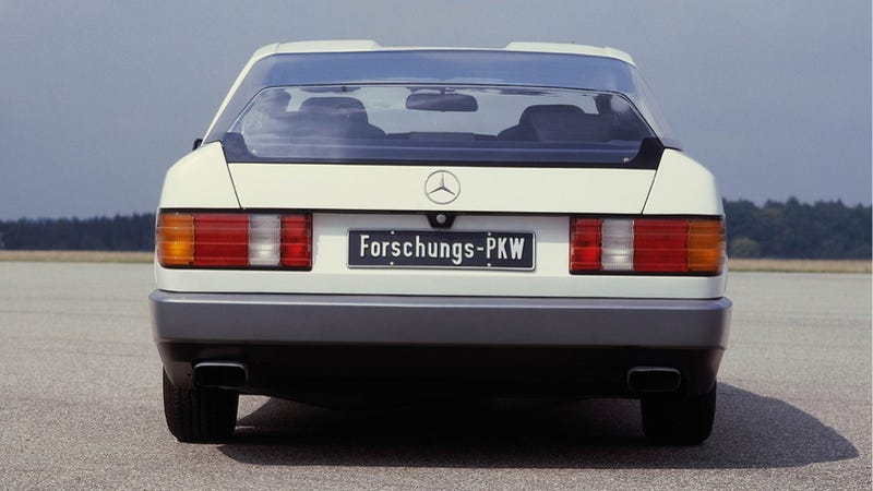 The Mercedes-Benz Auto 2000 Was The Car Of The Future In 1981