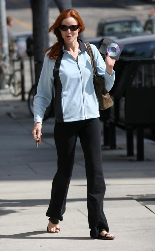 Marcia Cross: Flipped Disc