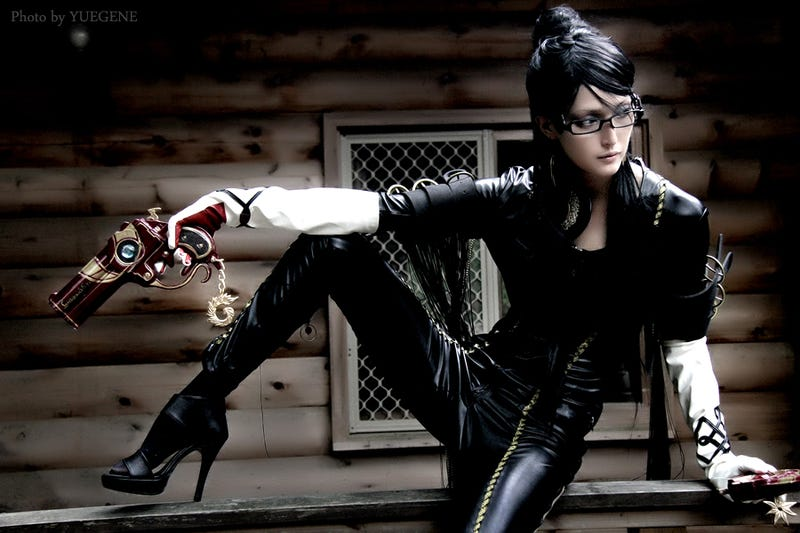 What Bayonetta Loves More than the Wii U. For Instance, She Loves Her Fancy Outfit.