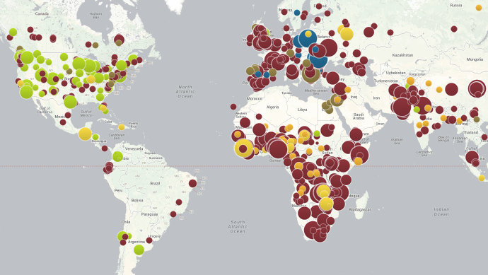 All the World's Preventable Disease Outbreaks, Visualized