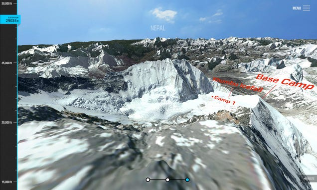 Virtually Tour the Path of Everest's Deadliest Climbing Accident