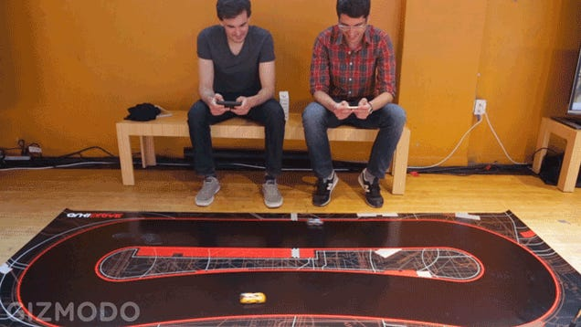 Anki DRIVE Is the Hilariously Fun Future of Weaponized Slot Cars