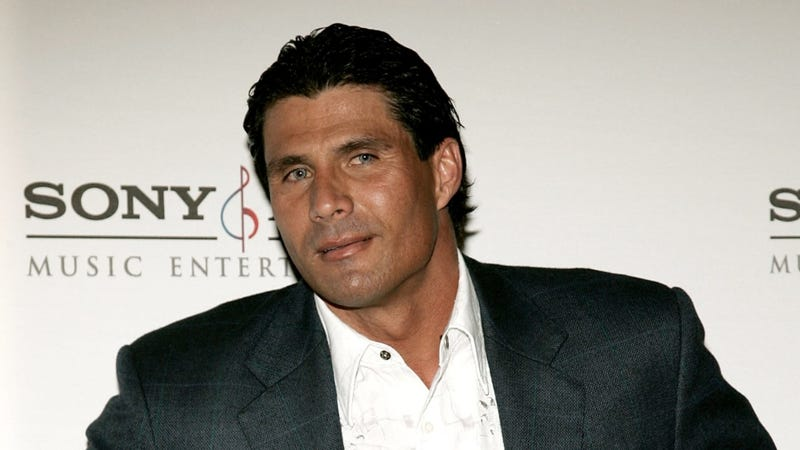 Jose Canseco is Willing to Paint You, Your Dog and Your Cat, or Just Your Cat