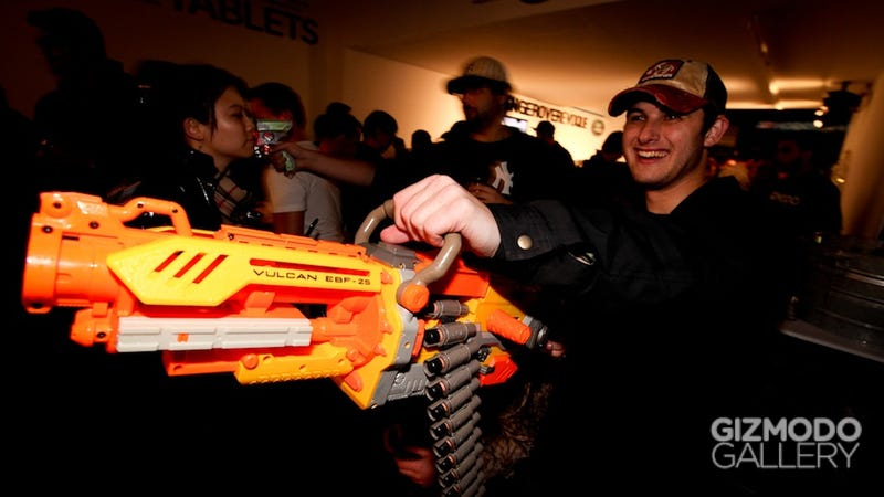 Gizmodo Gallery Reader Meet Up Nerf Party Gallery