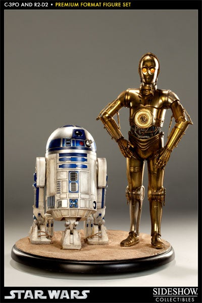 What a $750 Pair of Star Wars Figures Look Like