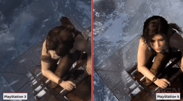 ​Let's See How Definitive The Next-Gen Tomb Raider Really Is