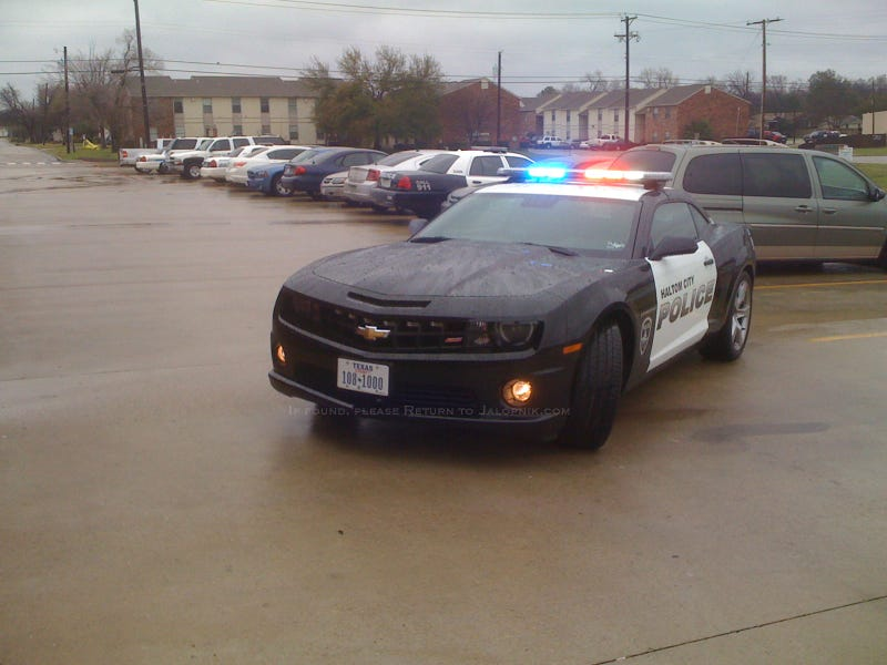 2010 Chevy Camaro SS: Haltom City Police Car