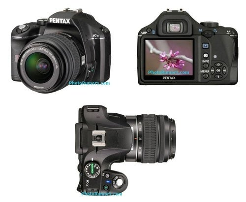 Pentax K-X DSLR Leaks, Due to Launch Tomorrow