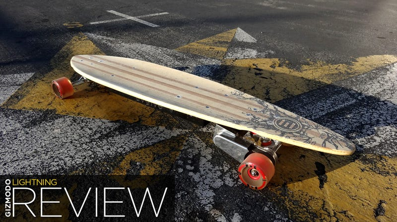 Evolve Pintail Bamboo Lightning Review: Go Go Gadget Skateboard