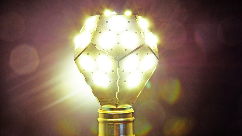 NanoLeaf Bulbs Provide Unusually Bright, Energy-Efficient LED Lighting