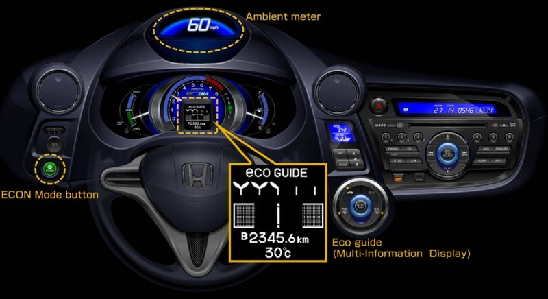 2010 Honda Insight Ecological Drive Assist System Grows Leaves, Gets Other Features
