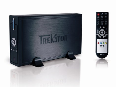 TrekStor's DivX-playing Hard Drive Prefers Your TV Over Your PC