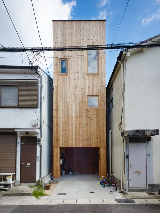 Cramped or not i want to live in these tiny japanese houses for Small japanese house design in tokyo by architect yasuhiro yamashita