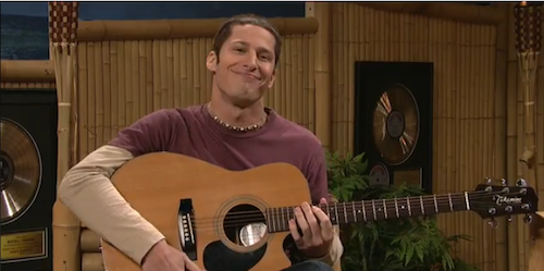 Life Imitates SNL as Andy Samberg Stars in New Jack Johnson Video