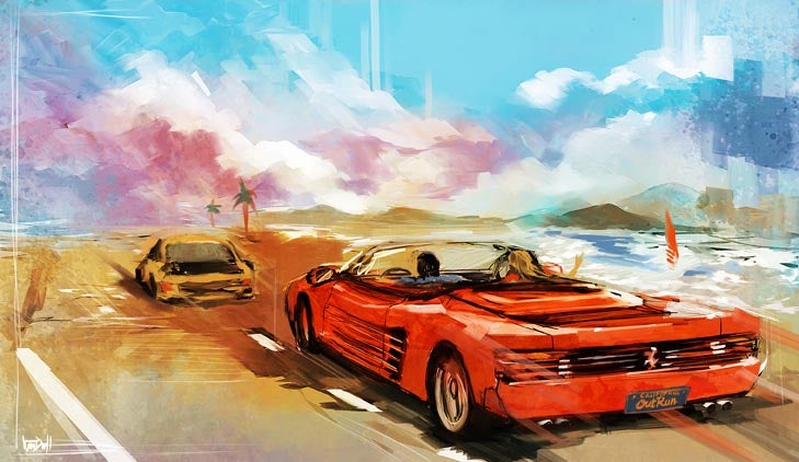 The Beautiful Video Game Art Of Daniel Vendrell