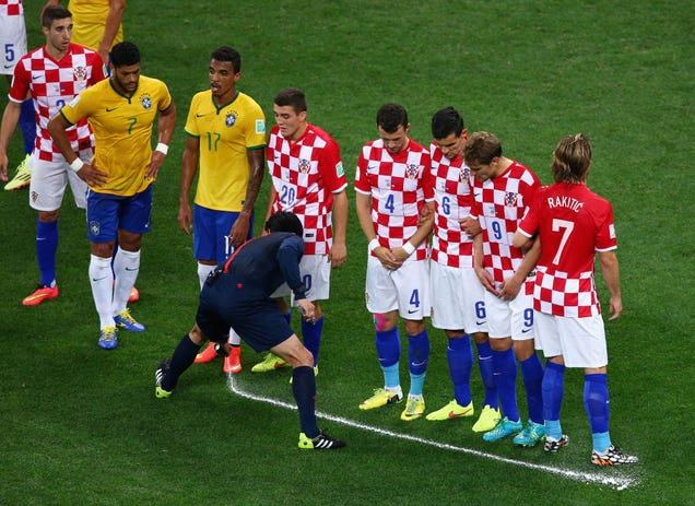 The Story Behind the Foam That World Cup Refs Use To Stop Cheating