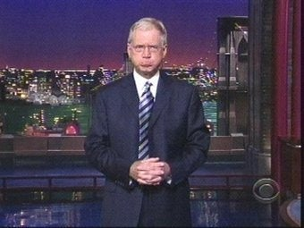 "David Letterman's Vicinity Now ""Harm's Way,"" Says College"