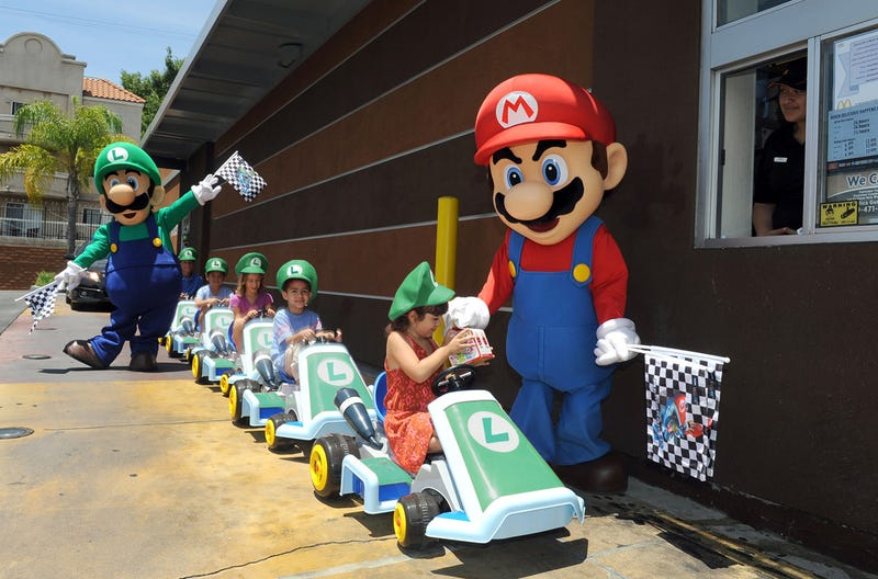 Kotaku 'Shop Contest: Mario At McDonald's: The Winners!