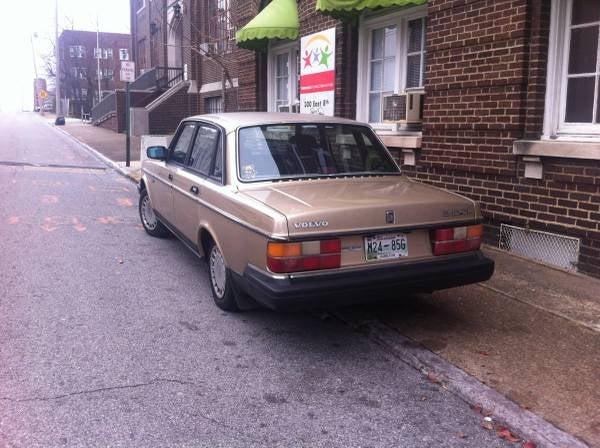 NPOCP: 1988 Volvo 240DL for $1100