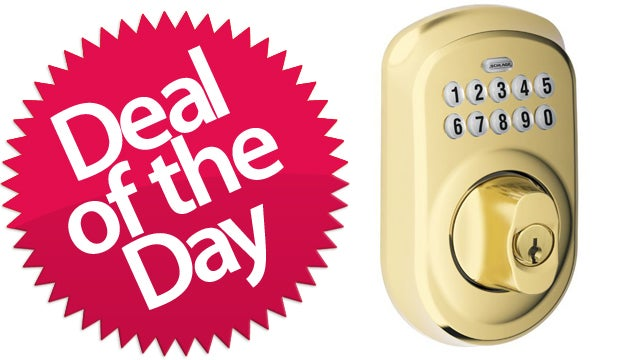 This Keypad Deadbolt is Your F*ck-Keys-Seriously Deal of the Day