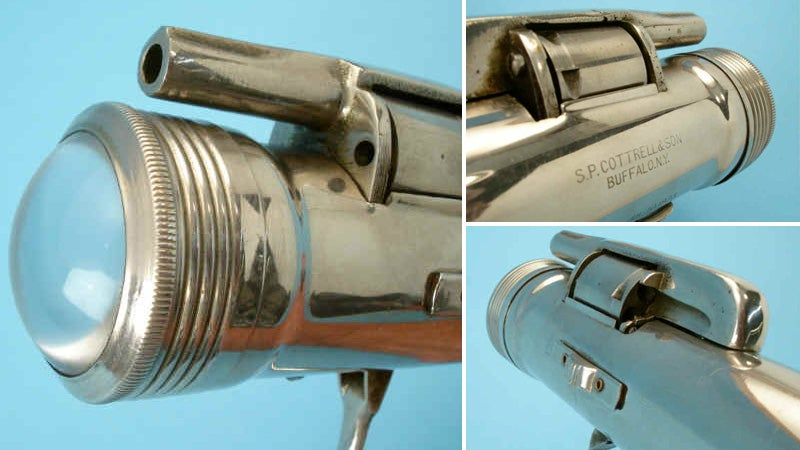 Flashlight Revolver Guns Down Things That Go Bump In the Night