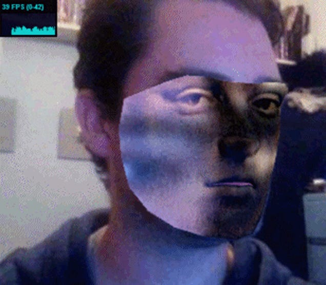 Real-Time Face Substitution Will Hide You In The Scariest Way Possible
