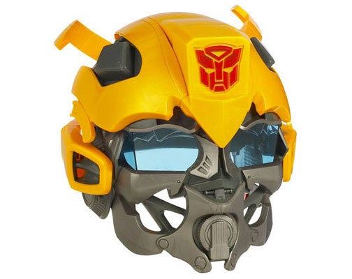 Bumblebee Voice Mixer Helmet: Because Seducing Megan Fox Is Futile Anyway