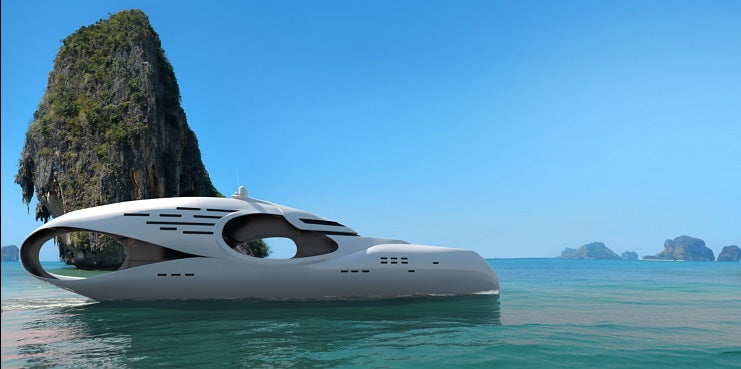 Infintas Yacht Spoils You For Life On Land With Three Levels of Luxury