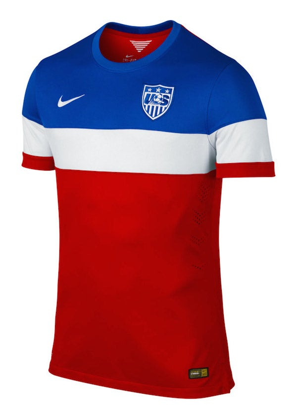 Here's The USMNT Away Jersey