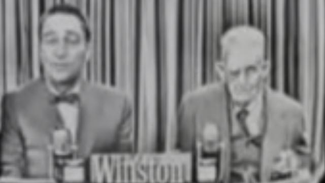 An eyewitness to President Lincoln's assassination appeared on television in 1956