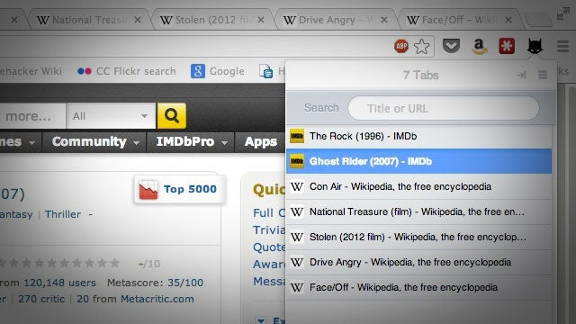 Tabman Turns Your Tabs Into an Easy-to-Browse List