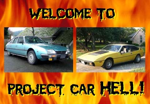 Project Car Hell: Citroen CX Diesel or V8 Lotus Eclat?