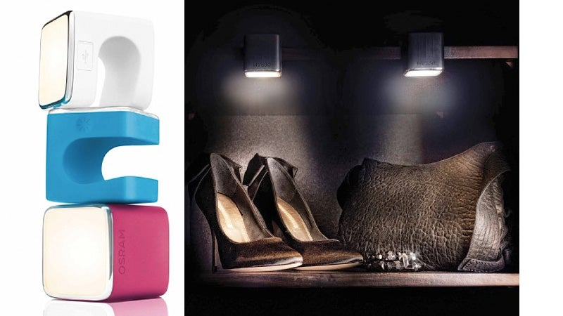 Clip These Adorable LED Cubes Anywhere the Sun Don't Shine