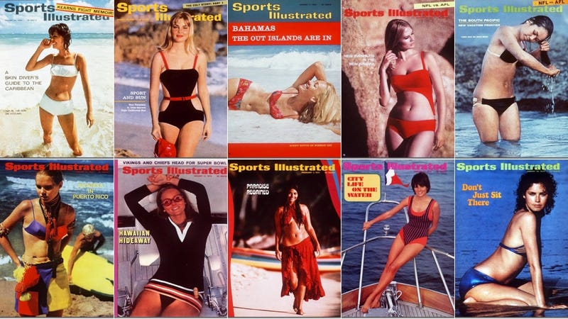 The 'Evolution' of Sexy: Every Sports Illustrated Swimsuit Cover Ever