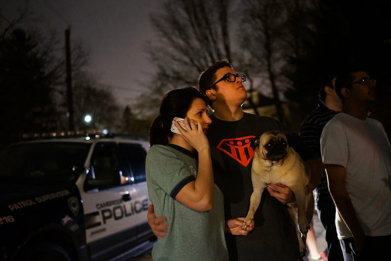 Scenes From The Final Hours Of The Watertown Manhunt