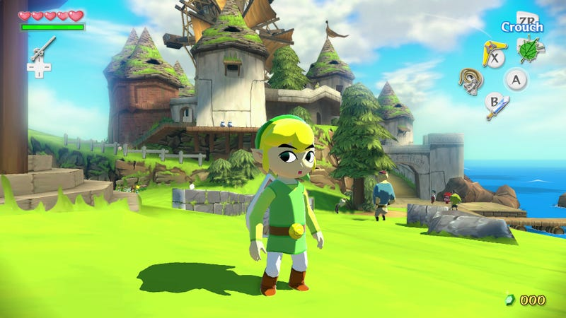 Streamlined Triforce Quest, No New Dungeons For Wind Waker Remake
