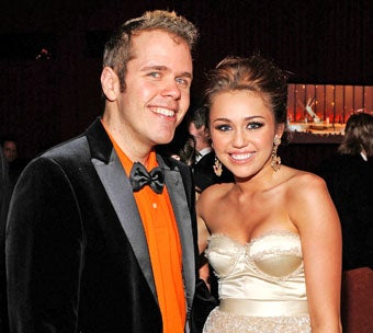 Perez Hilton Tweeted Another Photo of Miley Cyrus' Crotch