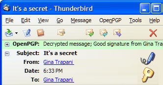 How to encrypt your email