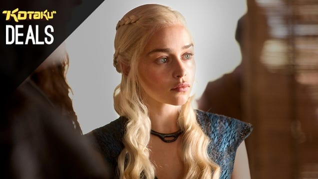 Game of Thrones Last Call, Bond 50, Controller Chargers [Deals]