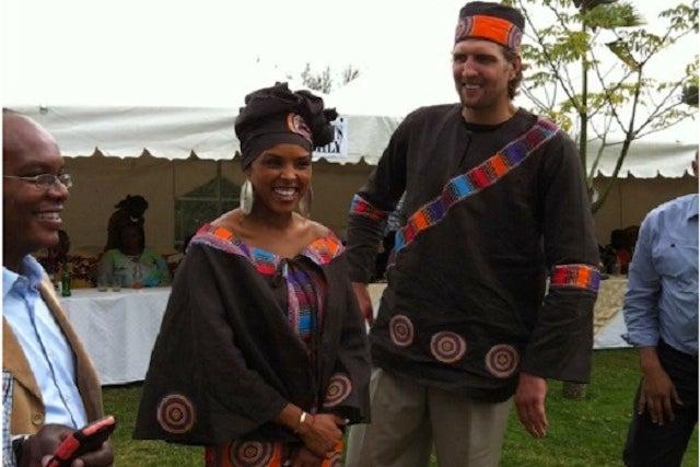 Of Course Dirk Nowitzki Had A Traditional Kenyan Wedding