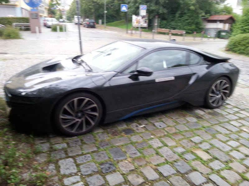 I drove an I8 and it was great! Review inside.