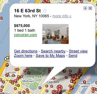 Google Maps Improves Real Estate Search