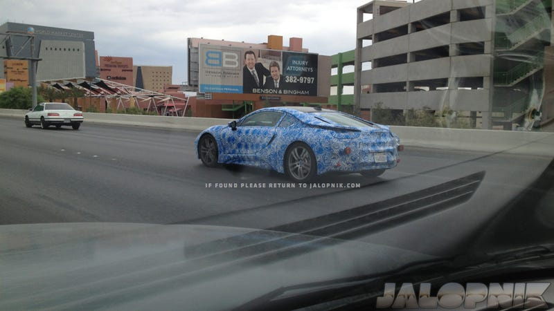 The BMW i8 Prototype Is In Vegas – Find It!