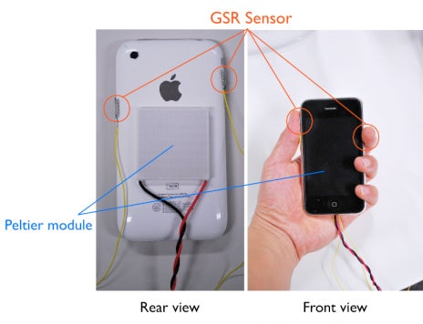 Japanese AffectPhone Concept Conveys Emotions Through Heat